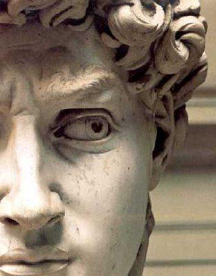 La mirada triste de El David